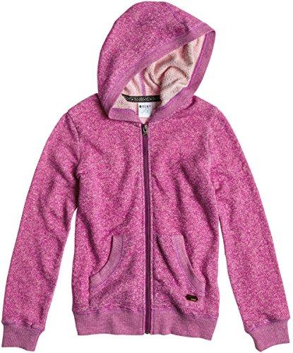 Roxy - Girls Stardust Zip-Up Hoodie, Size: 12, Color: Electric Purple