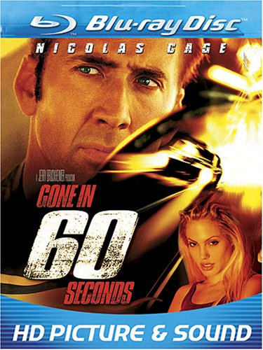 Cover art for  Gone in 60 Seconds [Blu-ray]