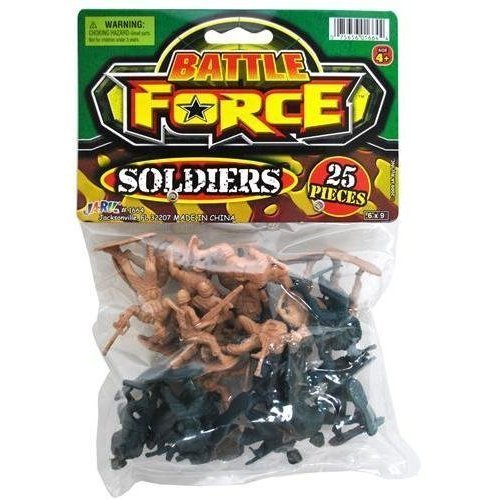 Battle Force Soldiers 25 Pieces - 1