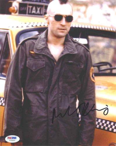Robert De Niro Taxi Driver Signed 8X10 Photo Certified Authentic Psa/Dna