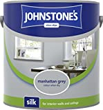 Johnstones Vinyl Silk 5L Manhattan Grey