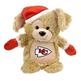 Kansas City Chiefs Christmas Bear By Forever Collectables