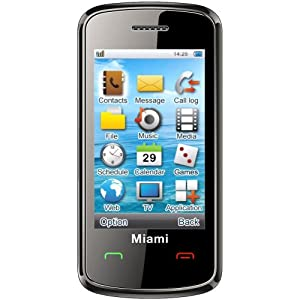 Orange Miami Pay As You Go Mobile Phone
