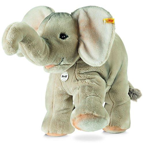 Steiff 064043 - Trampilio L'Elefante Peluche, 45 cm