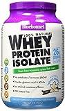 BlueBonnet 100% Natural Whey Protein Isolate Powder, French Vanilla, 2 Pound