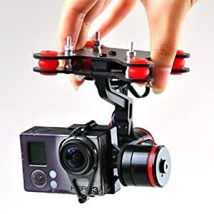 JMT 1 Set Upgrade Whole Sealing Brushless Gimbal Camera Mount W/ Motor Controller for Gopro 3 FPV Aerial Photography