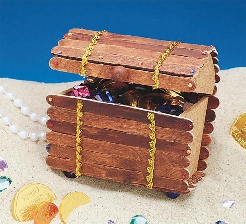 Treasure Chest Craft Kit (Makes 12)