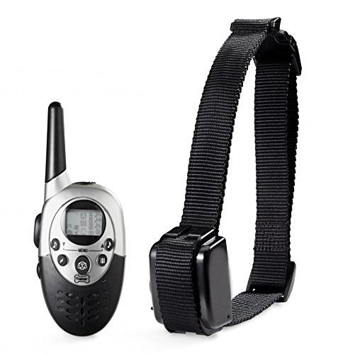Namsan Lcd Display Remote Control Pet Dog Training Collar Rechargeable Waterproof For One Dog