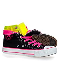 Converse Women's Chuck Taylor Two Fold Hi Top Black Sneaker