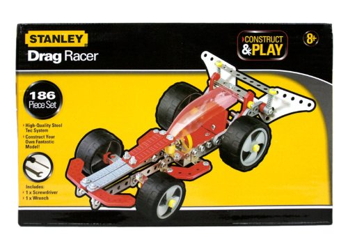 Stanley Construct & Play Drag Racer 186 Piece Set - 1