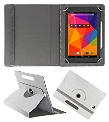 PCM Universal Folio Case for 7inch Tablet, PU Leather Stand Protector Case Cover with Multi-angle Stand for 7