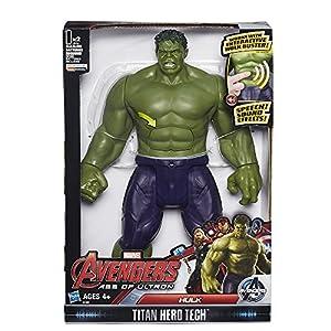 Avengers: Age of Ultron Titan Hero Tech Electronic Interactive Hulk Action Figure