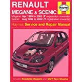 Renault Megane and Scenic (99-02) Service and Repair Manual (Haynes service & repair manual series)by Haynes