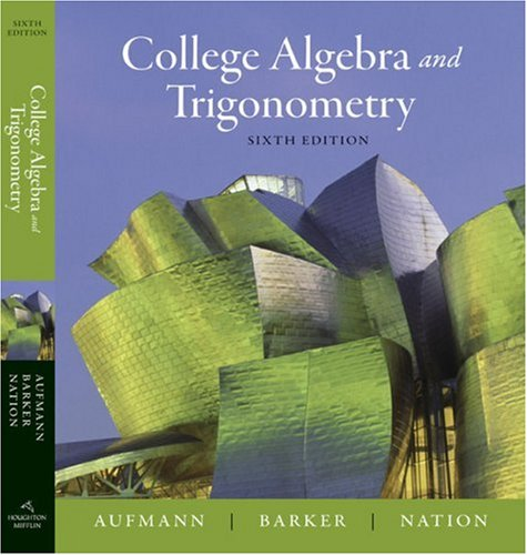 net basic math books trigonometry college algebra and trigonometry