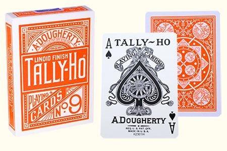 tally-ho-fan-back-playing-cards-orange