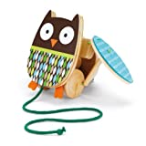 Skip Hop Treetop Friends Flapping Owl Pull Toy Baby, NewBorn, Children, Kid, Infant