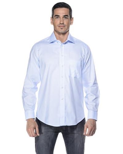 Camicissima Camisa Slim Fit Celeste
