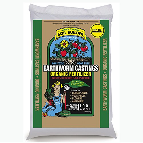 Unco Industries Wiggle Worm Organic Earthworm Castings Fertilizer, 30-Pound. (Worms Casting compare prices)