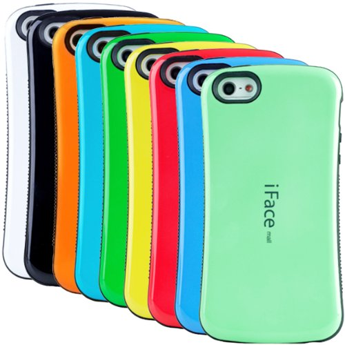 Best Price Huaxia Datacom Pack of 9 Ultra Shock-Absorbing iFace Case Cover for Apple iPhone 5 5G - wholesale 9pcs