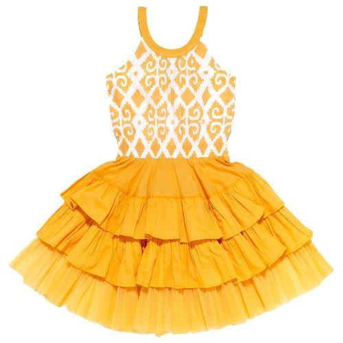 Masala Baby Girls 2-6x Tutu Ikat Dress