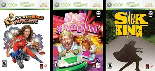 Burger King 3-Game Collection (Sneak King / Big Bumpin' / Pocket Bike Racer) - 1