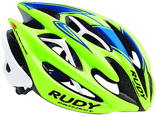 Rudy Project Sterling Casco, Lime/Blu/Whi.Fluo Shi, S/M