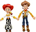 Disney Pixar Toy Story JESSIE 16 & WOODY 18 Plush Dolls - Buzz & bullseye friends