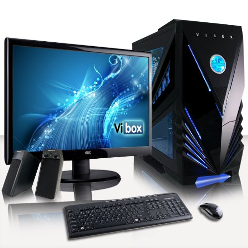 VIBOX Supreme Package 9 - Latest High Performance, Gaming PC, Desktop PC, Computer, Full Package with 23