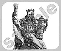 Gambrinus King of Beer Mouse Pad