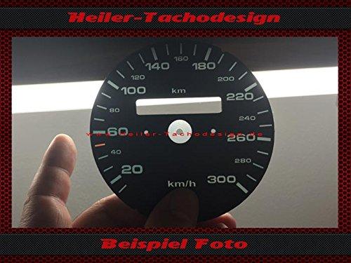 Tachoscheibe Porsche 911 964 993 Schalter Km/h