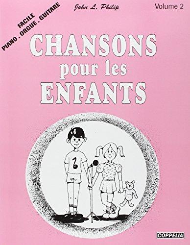 Partition: Chansons pour enfants faciles (piano, orgue, guitare)