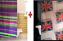 Tjar Shower curtain Buy 1 Get 1 Free