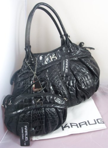 Pair Black Krrug Handbags