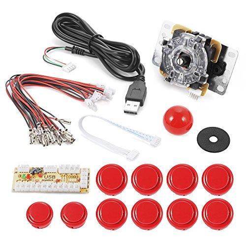 xcsourcer-cero-retardo-del-juego-de-arcada-usb-codificador-pc-joystick-kit-de-bricolaje-para-mame-ja