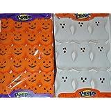 Peeps Halloween Pumpkin & Ghost Marshmallow Treats Value Pack of 4 (2 Ghost and 2 Pumpkin)
