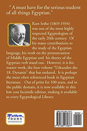 Urkunden der 18. Dynastie, Band 1: Hieroglyphic Inscriptions of the 18th Dynasty: Volume 1