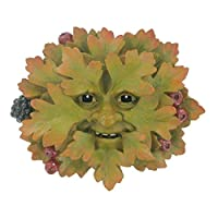 Hawthorn, Greenman Decorative Garden Wall Plaque. 10cm from Fiesta Studios