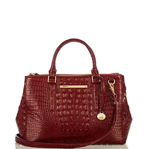 Small Lincoln Satchel<br>Carmine Red Melbourne