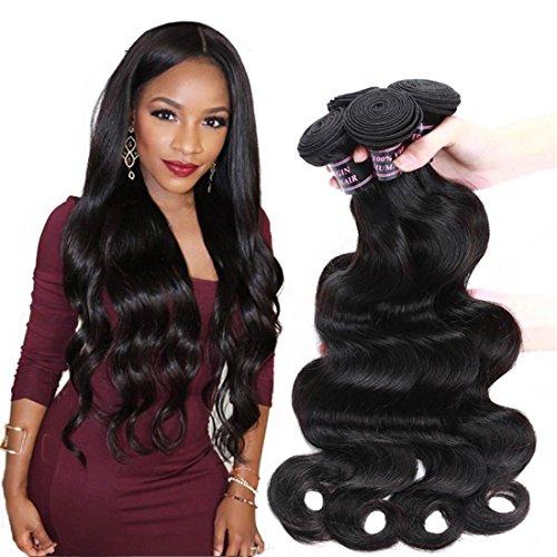 Meydlee Extension 7A Virgin del brasiliano dei capelli dell'onda del corpo 3pcs lot 100% capelli umani tessitura economico Lordo 300g brasiliano dell'onda del corpo dei capelli , 8 inches