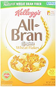 All Bran Cereal, Complete Wheat, 18-Ounce Boxes (Pack of 2)