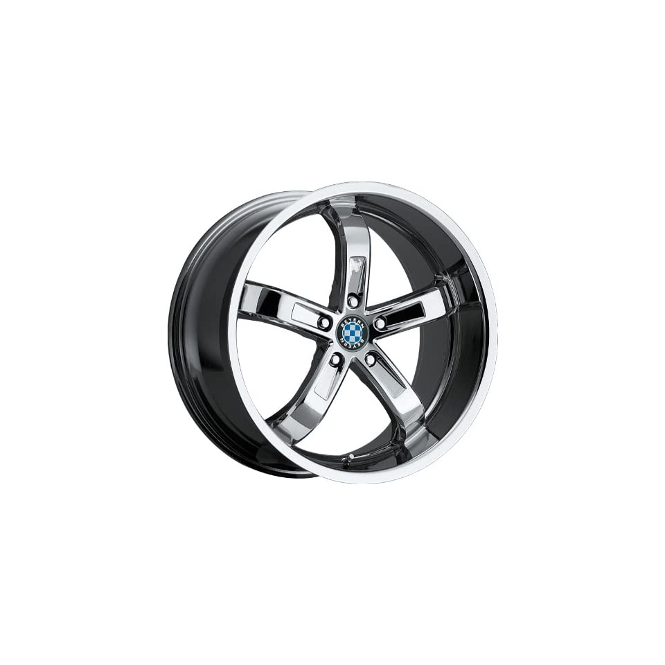 18x9.5 Beyern Five (Chrome) Wheels/Rims 5x120 (1895BYF255120C74)