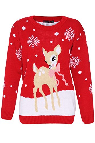 CelebLook-Childrens-Deer-Christmas-Knitted-Jumper