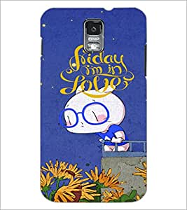 PrintDhaba Love D-4872 Back Case Cover for SAMSUNG GALAXY S5 (Multi-Coloured)