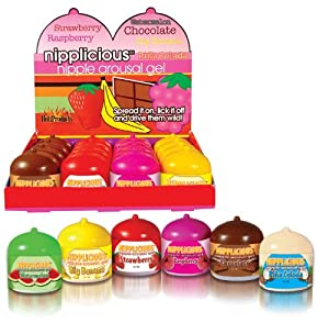 Nipplicious Nipple Arousal Gel 16pcs Display