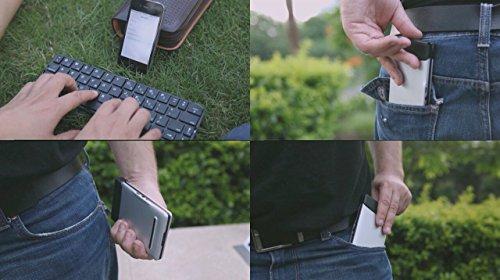 为移动时代而生,Flyshark Team 飞鲨 iLepo 全球首款 无线智能折叠 随身键盘图片