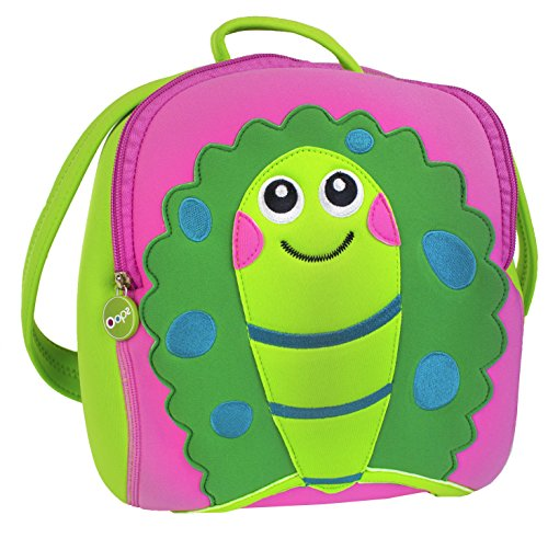 Oops Cookie the Turtle Soft Backpack - Lightweight, Durable Neoprene - Adjustable Straps - Safe and Easy to Clean