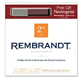 Rembrandt 2 Hour Whitening Kit with Neutrogena Lip Gloss