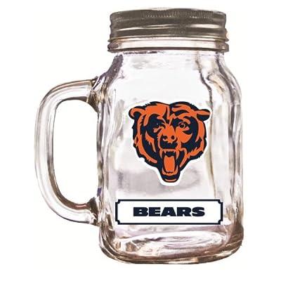 NFL Chicago Bears Duckhouse 20 Ounce Mason Jar
