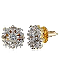 Ava Stud Earrings For Women (Golden) (E-B-009)