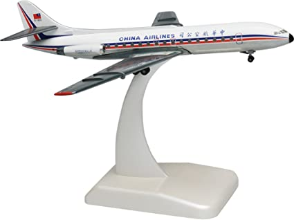 China Airlines Caravelle maquette avion échelle 1:200